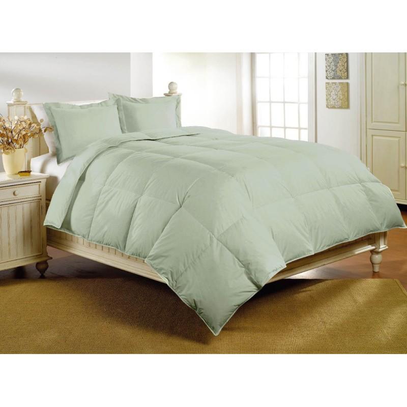 Desert Sage Deluxe Sateen Down Alternative Comforter by Luxl